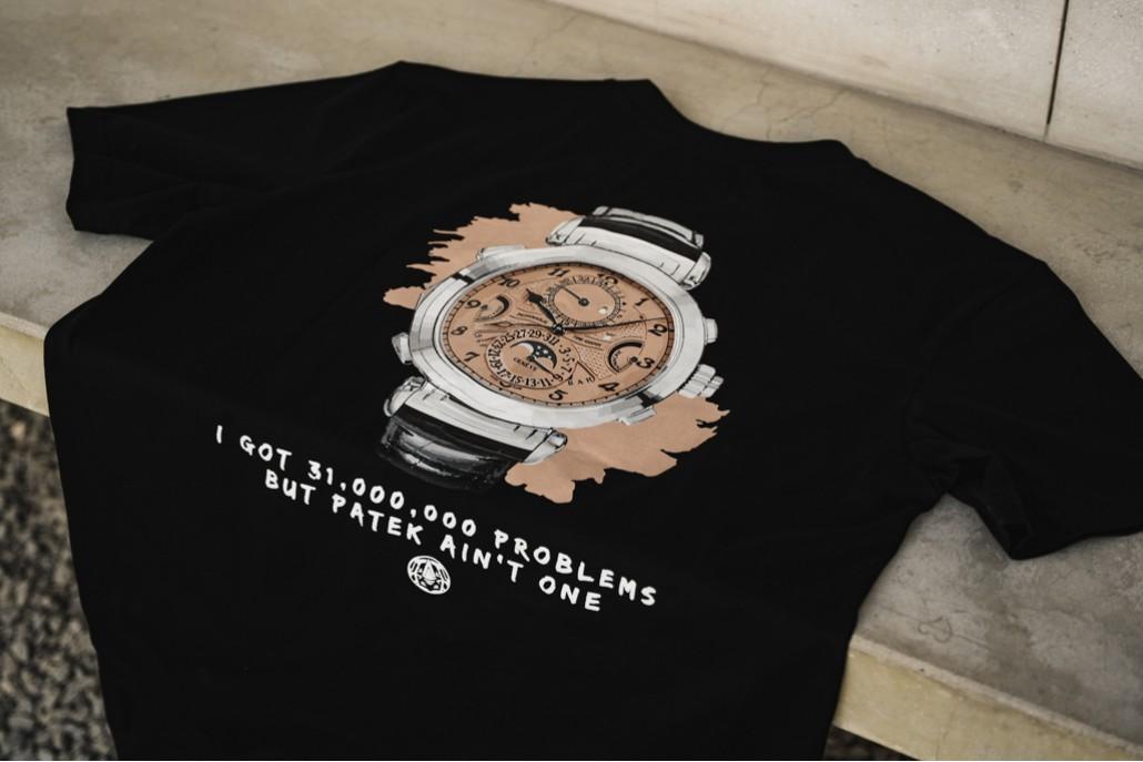 Got Problems? - Patekaholic Black V Neck T Shirt