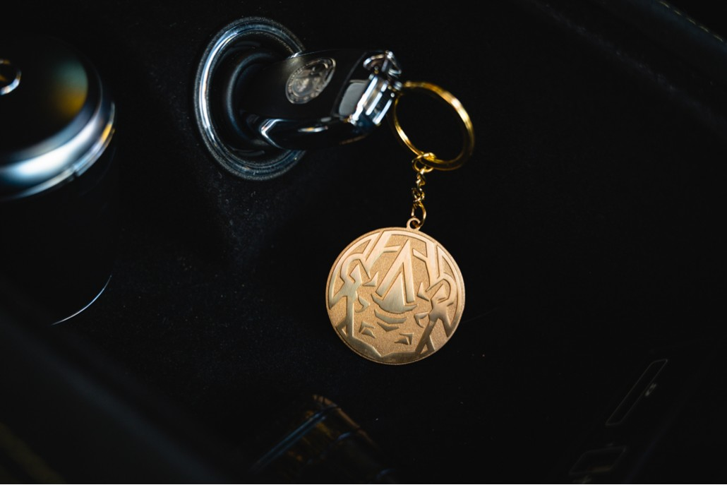 Patekaholic Bronze Keychain
