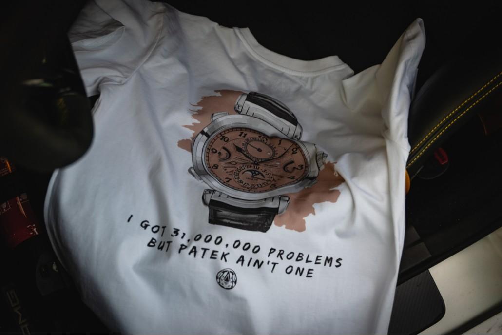 Got Problems? - Patekaholic White V Neck T Shirt